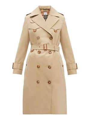 Burberry islington cotton gabardine trench coat