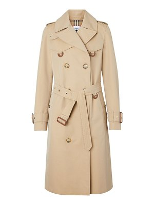 Burberry islington double-breasted trench coat