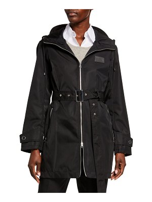 Burberry Knighton Lightweight Parka Coat