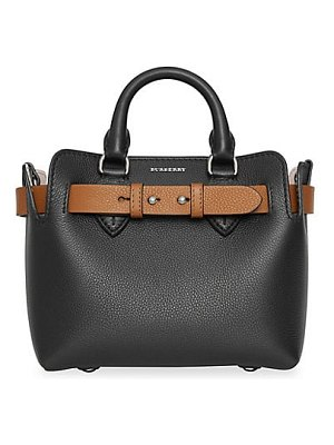 Burberry baby triple stud leather belt tote