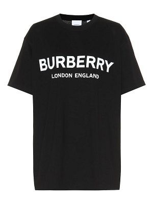 Burberry logo cotton t-shirt