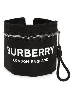 Burberry logo nylon pocket armband