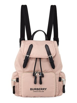 Burberry Nylon Medium Drawstring Rucksack Backpack
