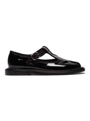 Burberry patent-leather dolly loafers
