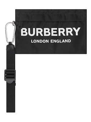Burberry Pebble Nylon Clutch Bag