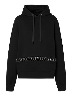 Burberry poulter oversized chain hoodie