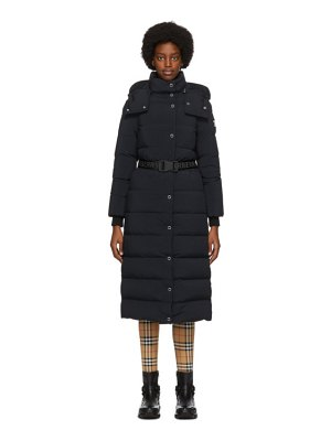 Burberry puffer belted eppingham coat