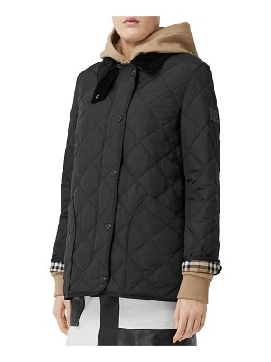 Burberry Cotswold Quilted Barn Jacket