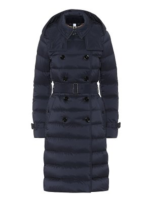 Burberry quilted-down jacket
