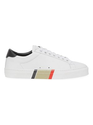 Burberry rangleton leather sneakers