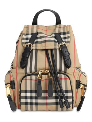 Burberry Rocksack check nylon backpack