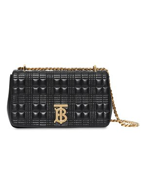 Burberry Sm lola quilted leather bag