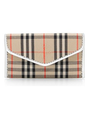 Burberry small envelope clutch
