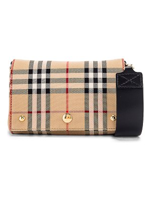 Burberry small hackberry bag