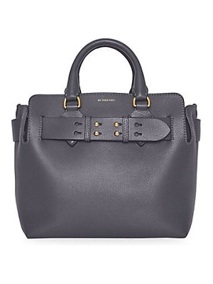 Burberry small leather satchel