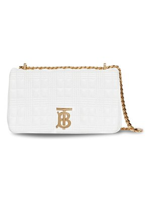 Burberry small lola tb quilted leather shoulder bag