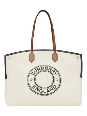 Burberry society east/west tote