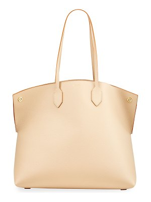 Burberry Society Large Leather Tote Bag