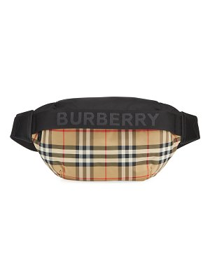 Burberry Sonny Vintage Check Nylon Belt Bag