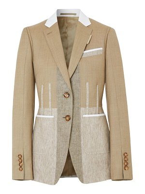 Burberry tailored wool & cashmere jacket