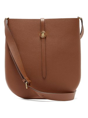 Burberry tb besage grained-leather cross-body bag