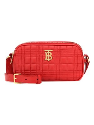 Burberry tb camera quilted leather belt bag