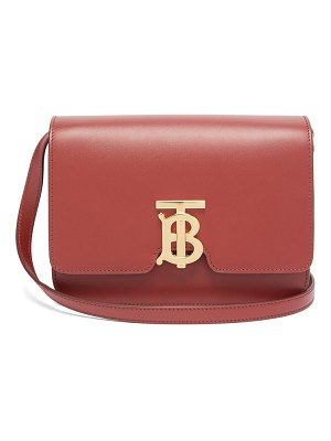 Burberry tb monogram small leather cross-body bag