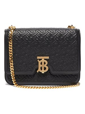 Burberry tb quilted leather cross body bag