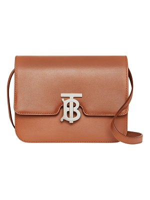 Burberry TB Small Crossbody Bag - Silver Hardware