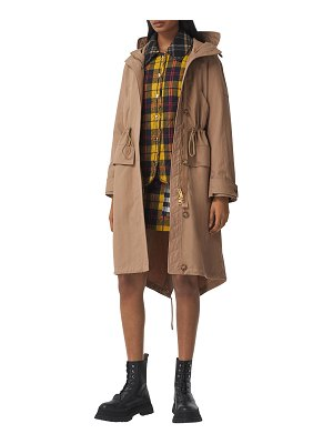 Burberry Tewin Fishtail Hooded Parka