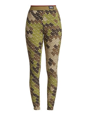 Burberry turama camo-print leggings