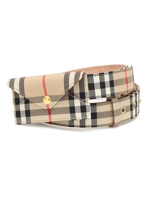 Burberry vintage check belt bag