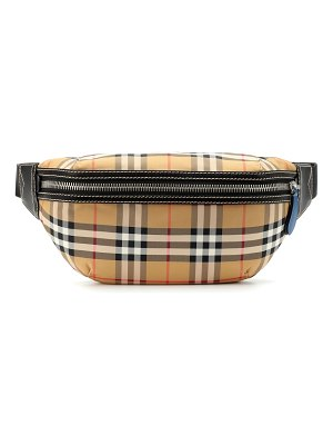Burberry sonny check belt bag