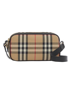 Burberry Vintage Check Camera Belt Bag