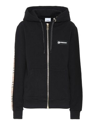 Burberry vintage check cotton hoodie