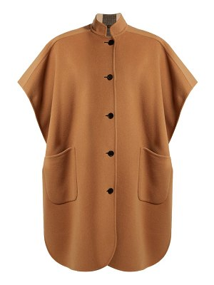 Burberry vintage-check reversible wool cape