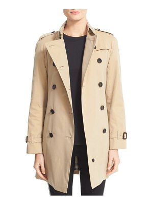 Burberry westminster double breasted trench coat