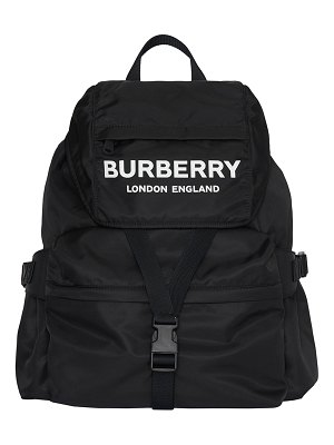 Burberry Wilfin Nylon Logo Backpack
