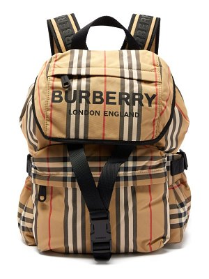Burberry wilfin small icon stripe backpack