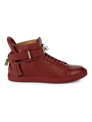Buscemi Alce Leather High-Top Sneakers