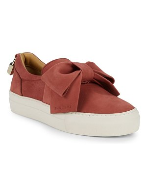 Buscemi Bow Slip-On Sneakers