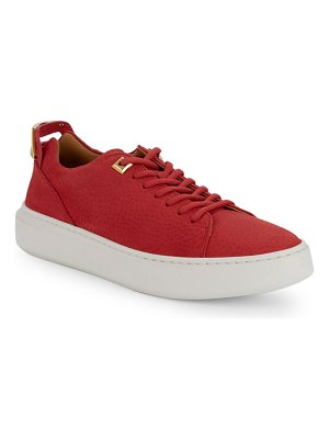 Buscemi Classic Leather Low-Top Sneakers