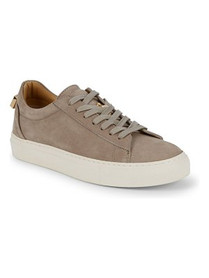 Buscemi Lace-Up Suede Low-Top Sneakers