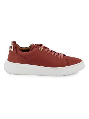 Buscemi Uno Suede Low-Top Sneakers