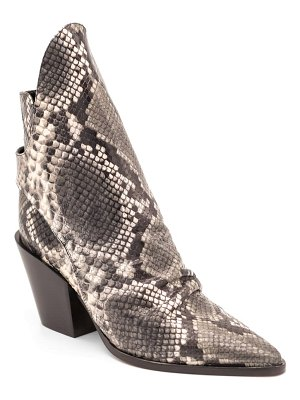 Butter Shoes jaeger snake embossed bootie
