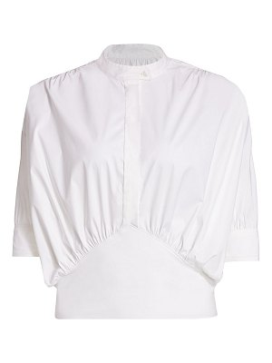 By Any Other Name cumberbund button-up top