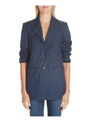 By Any Other Name knot lapel blazer