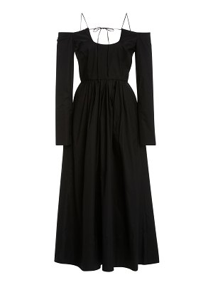 By Any Other Name pastoral cotton-blend midi dress