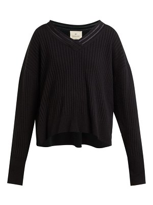 BY. BONNIE YOUNG v neck cashmere blend sweater
