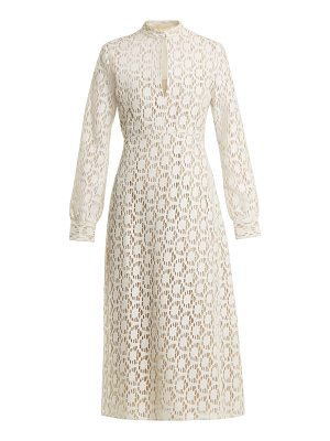BY. BONNIE YOUNG By. Bonnie Young - Long Sleeved Cotton Blend Lace Dress